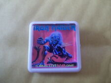 IRON MAIDEN REAL LIVE DEAD ONE  ALBUM COVER    BADGE PIN
