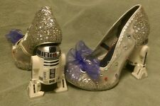 Irregular Choice Star Wars Silver R2D2 Shoes-Size 39