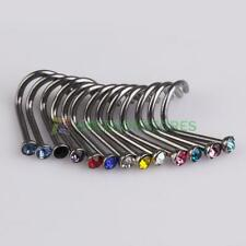 Chic 20PCS Body Jewelry Mixed Style Nose bar Rings Piercing Nose Studs Wholesale