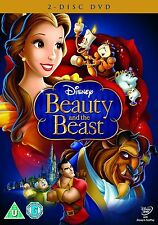 BEAUTY AND THE BEAST DVD Genuine Original Movie Walt Disney Film Brand New UK