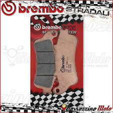 FRONT BRAKE PADS BREMBO SINTERED 07072XS HONDA FORESIGHT 250 2002