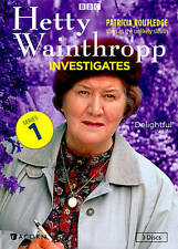 Hetty Wainthropp Investigates - Complete First Series (DVD, 2014, 3-Disc Set NEW
