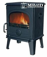 Dru 44 Multi Fuel Stove Anthracite 4.9kw