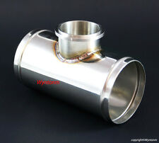 "50MM BOV Blow off V Band Turbo 304 Stainless Steel Charge Pipe Piping 2.5"" OD"