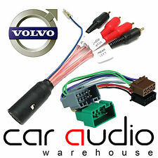 Volvo V70 2004-2007 Dolby Car Stereo Amplifier Bypass & ISO Wiring Harness Lead