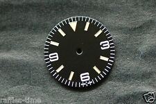 Plain Explorer Watch Dial for DG 2813 Movement Yellow lume Markers