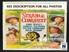 "NobleSpirit NO RESERVE 1953 Strange Conquest 27x41"" Folded Movie Poster"