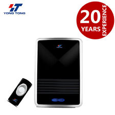Plug-in Wireless Digital Receiver Doorbell Remote Control 25 Tune Chime Melody