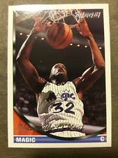 1993 Topps Basketball Shaquille O'neal Gold card #181