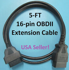 5 Foot OBD2 Extension Cable for Snap On Scanner OTC EVO Tech2 Autel Launch X431