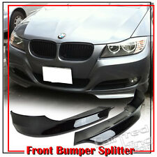 FOR BMW 3 SERIES E90 LCI OE FRONT LIP SPLITTER 4DR SEDAN Painted #475