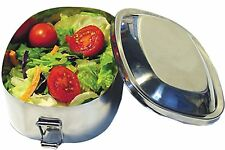 NEW WAVE ENVIRO STAINLESS STEEL CHILDREN LUNCH BOX FOOD CONTAINER