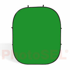 PhotoSEL BD121G Studio Chroma Key Green Screen Collapsible Background 2m x 2.4m