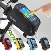 Cycling Bike Bicycle Frame Holder Pannier For iPhone Cell Phone Case Bag Pouch