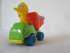 Playskool Big Bird in a Diecast Metal Dump Truck