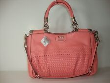 Coach Madison Woven Carrie 23341 Salmon