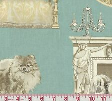 P Kaufmann Best in Show Puddle Dog Print Fabric BTY