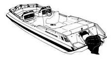 7oz STYLED TO FIT BOAT COVER KAYOT LIMITED 20 I/O ALL YEARS