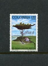 Colombia C850, MNH Copyright Protection Tree  1992 x23561