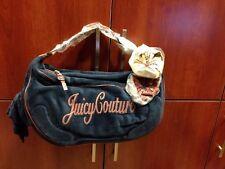 100% authentic Juicy Couture GIGI velour satchel bag purse