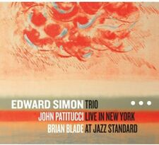 Trio Live In New York At Jazz Standard - Edward Trio Simon (2013, CD NIEUW)