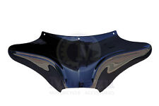 Mutazu Vivid Black Wide Aggressive Batwing Fairing for Harley Softail Road King