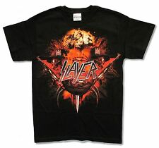 SLAYER - RED WAR BLACK T-SHIRT NEW OFFICIAL BAND MUSIC ADULT SMALL S