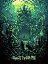 Iron Maiden Shadows of the Valley Regular Poster Print Dan Mumford #/200 SIGNED