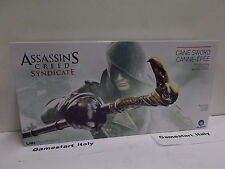 ASSASSIN'S CREED SYNDICATE - CANE SWORD BASTONE ANIMATO - COSPLAY - NUOVO NEW