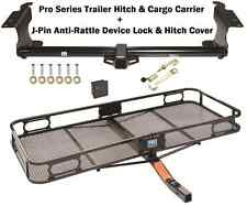 99-16 HONDA ODYSSEY TRAILER TOW HITCH + CARGO BASKET CARRIER + SILENT HITCH PIN