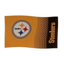 Pittsburg Steelers Large Supporters Flag 5ftx3ft 5x3' FD