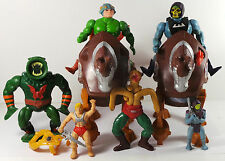 Pre-owned Lot OF Mattel 1980's He-Man Maters Of The Universe Action Figures