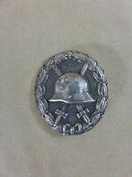 WW1 Deutsches Reich Verwundetenabzeichen Silber an Nadel
