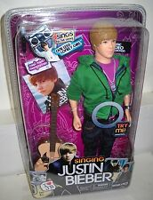 #1744 Bravado Celebrity Singing Justin Bieber Doll Sings One Less Lonely Girl