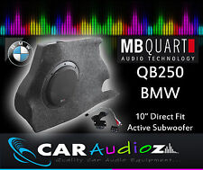MB Quart QB-250 BMW1 Active Box 25cm Active Custom Subwoofer Box QB250 BMW1