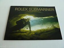 Rolex Submariner Booklet - deutsch von 01-2002