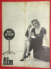 MARILYN MONROE ON COVER AND INSIDE 1956 BUS STOP UNIQUE EXYU MOVIE MAGAZINE