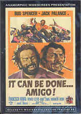It Can Be Done Amigo DVD Wild East Productions Bud Spencer Jack Palance