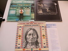 3x Richard Digance- How the West was lost/ Treading Boards/England´s Green and..