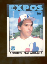 1986 Topps ANDRES GALARRAGE Montreal Expos Rookie Card Mint