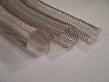 "4"" x 9' Wire Corrugated Flexible Dust Collector Hose"