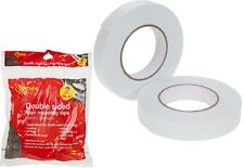 25mm x 10 Metre Double Sided Foam Mounting Tape Sticky Strong Adhesive Strips