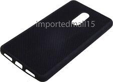 Net Design Soft TPU Back Cover Case For Xiaomi (indian) Redmi Note 4 - Black