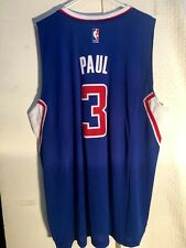 Adidas Swingman 2014-15 NBA Jersey Clippers Chris Paul Blue sz 2X
