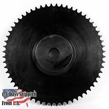 """41B60T-1"""" Bore 60 Tooth Live Axle Sprocket for 40/41/420 Roller Chain"""