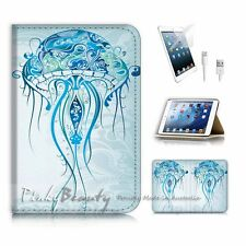 iPad Mini Gen 1 2 3 Flip Wallet Case Cover P3199 Jelly Fish