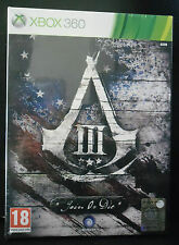 ASSASSIN'S CREED III 3 JOIN OR DIE LIMITED EDITION NUOVA VERS. ITALIANA XBOX 360