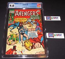 Avengers #83 CGC 9.0 from 1970 1st VALKYRIE & LADY LIBERATORS - new Thor movie!
