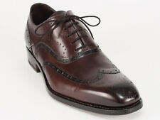 New  Harris  Dark Brown Lace-Up Leather Shoes UK 6 US 7