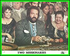 "BUD SPENCER in ""The Two Missionaries"" Original COLOR LOBBY CARD 1974"